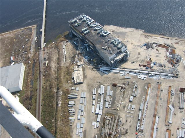 Hurricane katrina casino boat photos water front casino