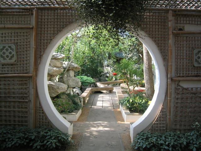 Duke gardens japanese garden entrance flickr photo for Japanese garden entrance