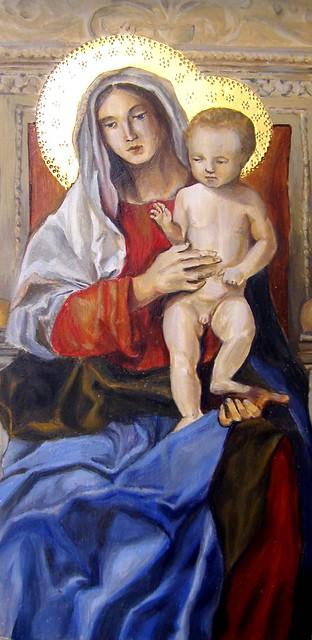 giovanni bellini, madonna with saints