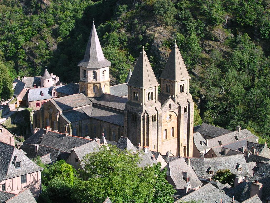 Iglesia abacial de Sainte-Foy