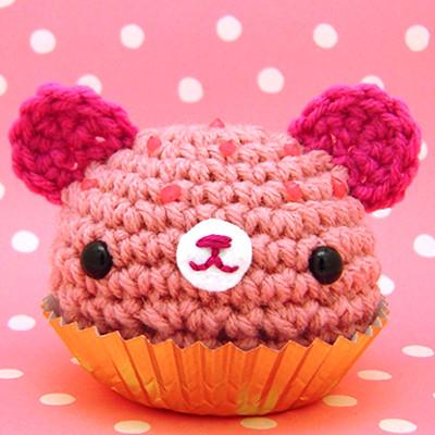 Amigurumi Cute Cupcake : Amigurumi Pink cupcake bear Flickr - Photo Sharing!