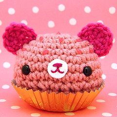 Amigurumi Pink cupcake bear www.amigurumikingdom.etsy ...
