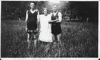 Walter Dye, Eva Thompson, Herman Harms