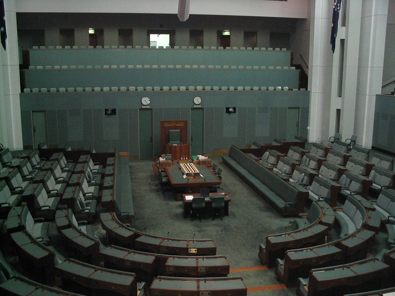 House of Representatives, Parliament House, Canberra, August 2005