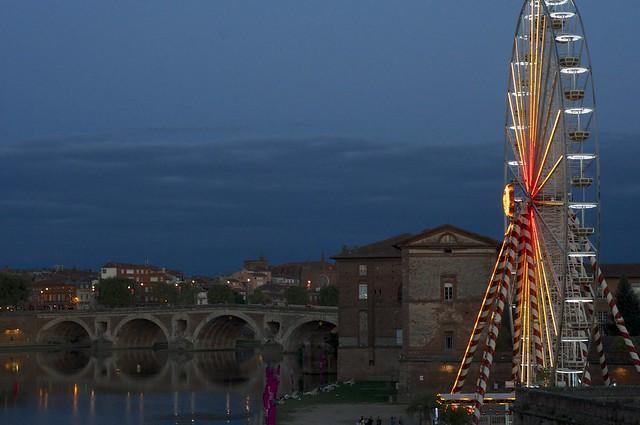 Grande roue Toulouse plage_4