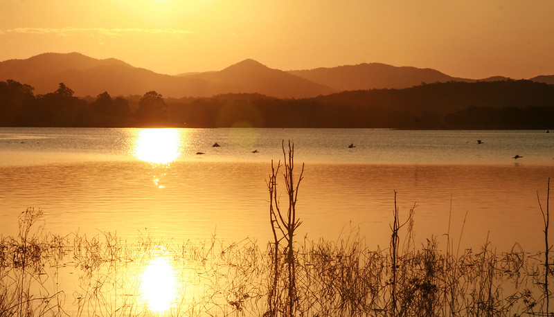 Sunset - Lake Samsonvale