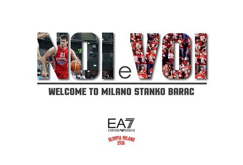 Olimpia: arriva Stanko Barac