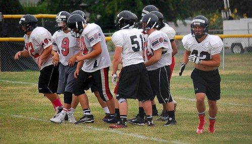 Football practice 5