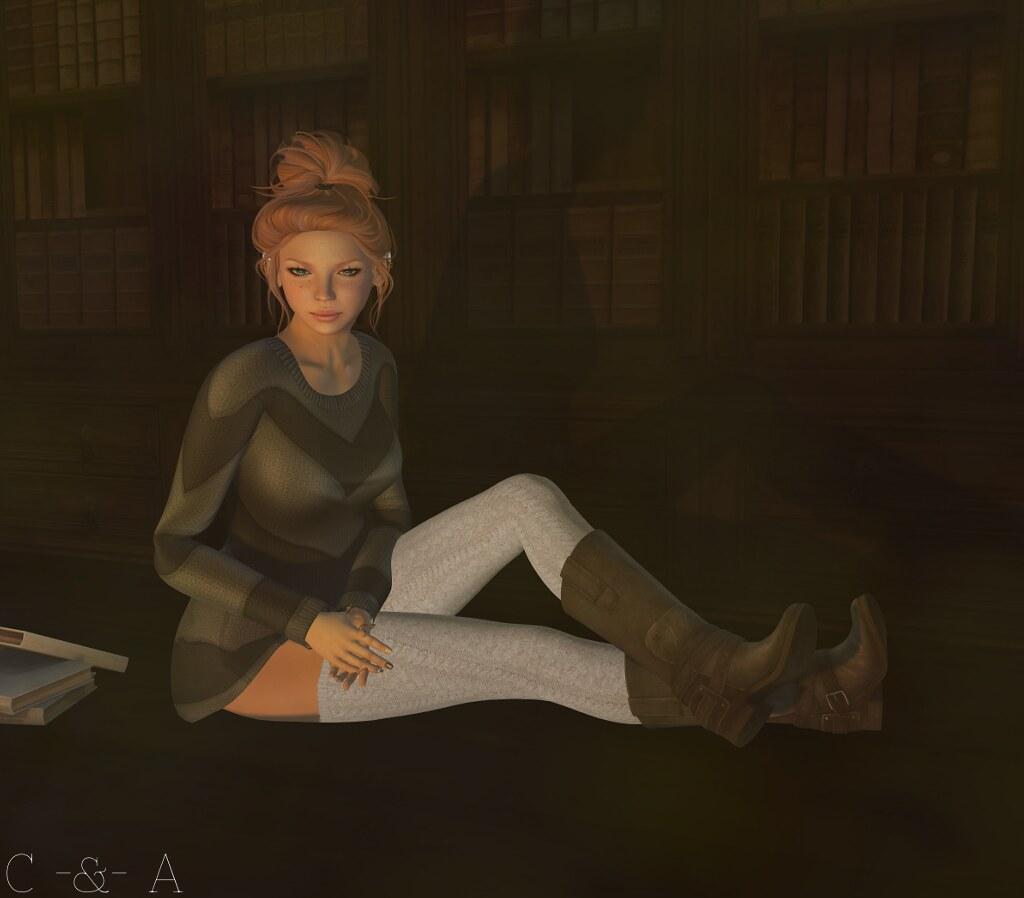 Reading in the dark...