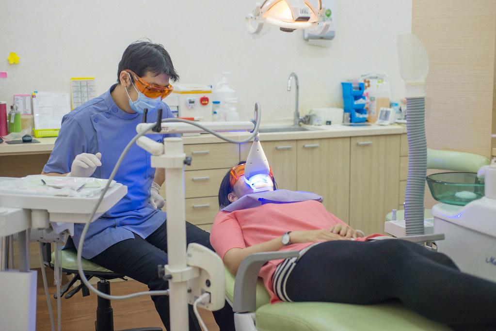 黃牙退散!到高雄人本自然牙醫診所做牙齒冷光美白還我一口自信白牙 (22)
