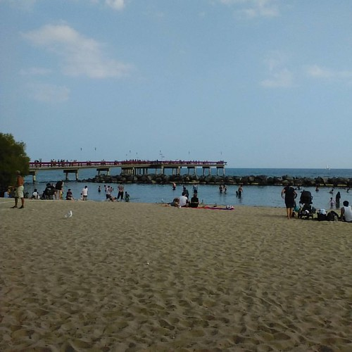 Center Island beach #toronto #torontoislands #centreisland #beach #lakeontario