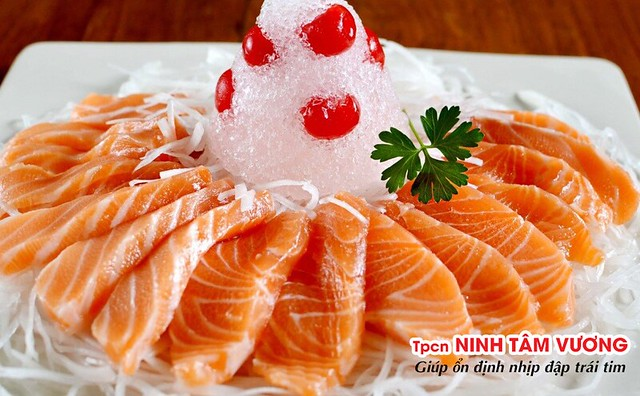 Cá hồi chứa rất nhiều taurin