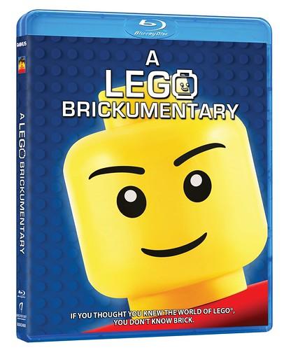 A LEGO Brickumentary Blu-Ray