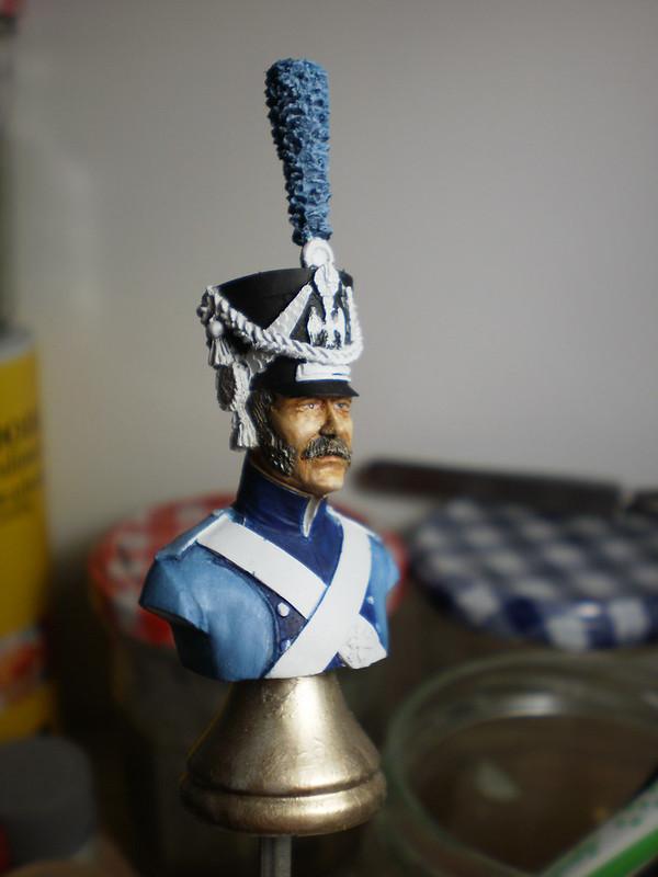 HISTOREX Conducteur train d'artillerie . Peinture a l'huile 21412732399_6a7e86303f_c