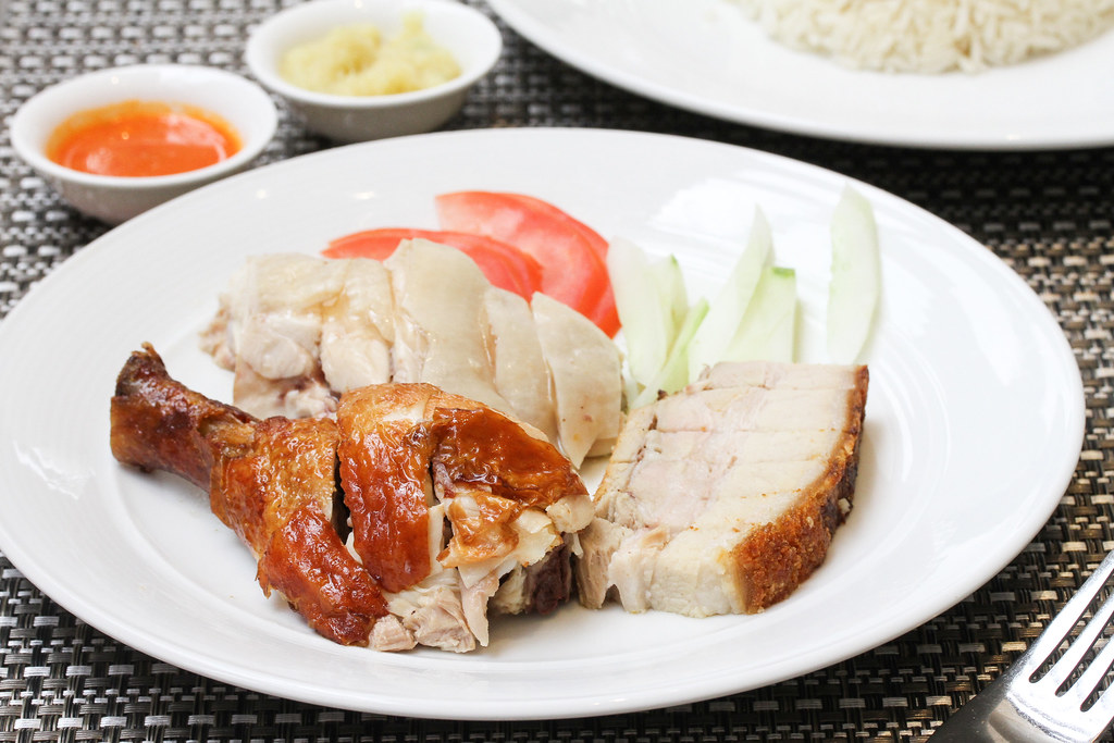 Atrium Restaurant: roast chicken