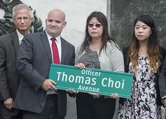Officer Thomas Choi Street Renaming