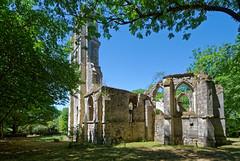 Oise - Ancienne église de Bourgon et Morcourt