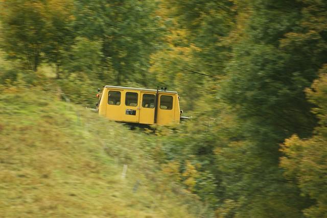 [277/365] Erzbergbahn X626 126 Draisine talwärts