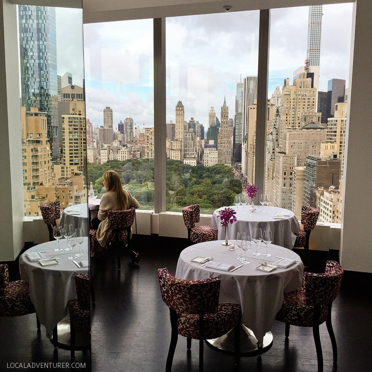 Beautiful Views and Fine Dining at Asiate NYC