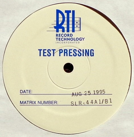 Stove test pressing.
