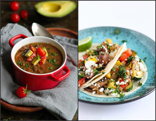Vegetarian Dinner Recipes #healthy