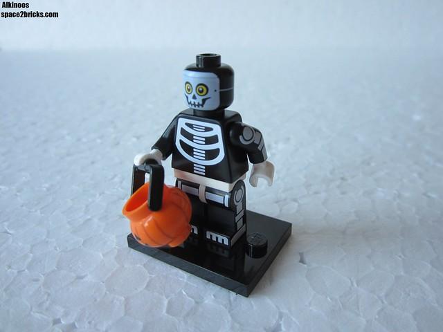Lego Minifigures S14 homme squelette p1