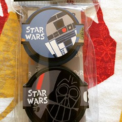 after seeing @kuv post about this, I went out to get my own #starwars #maskingtape and I also put an order in for their overseas foodie stamps for my nengajo(New Years cards) which go on sale tomorrow♡  #stamps #japan