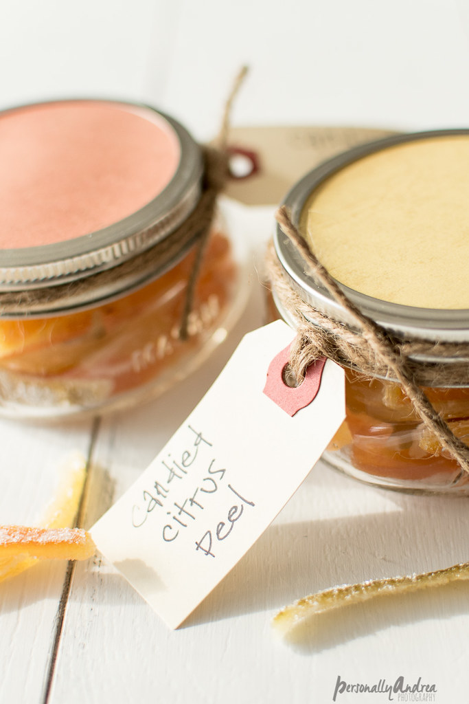 Homemade Candied Citrus Peel Gift