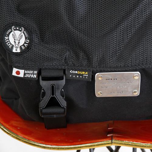 RIDE BAG / OFUKUROSAN オフクロサン / BLACK / No.692