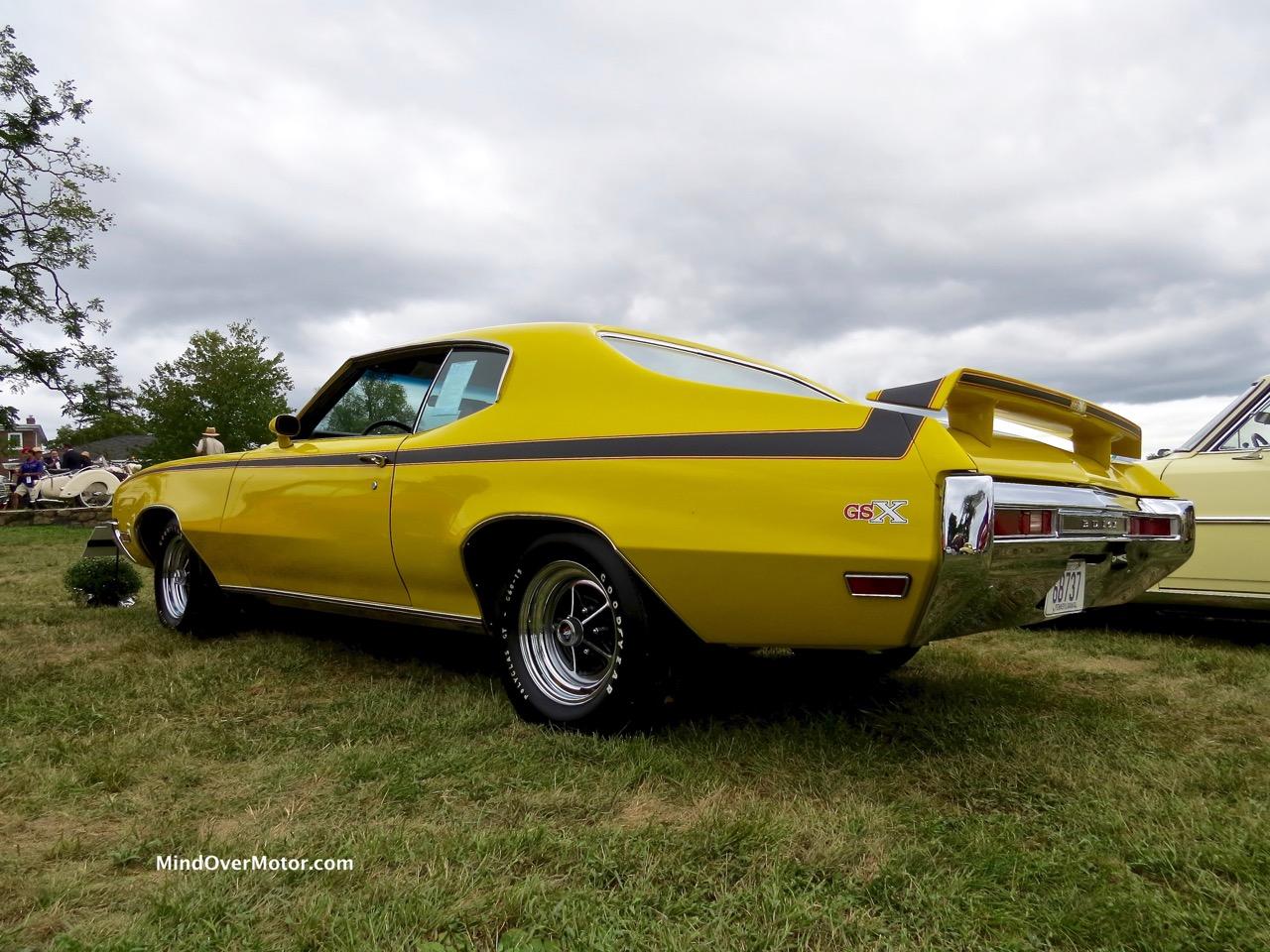 1970 Buick GSX Rear Side Profile