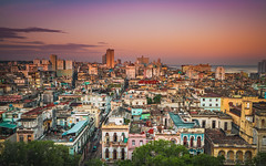 Cuba - Sunrise over Havana