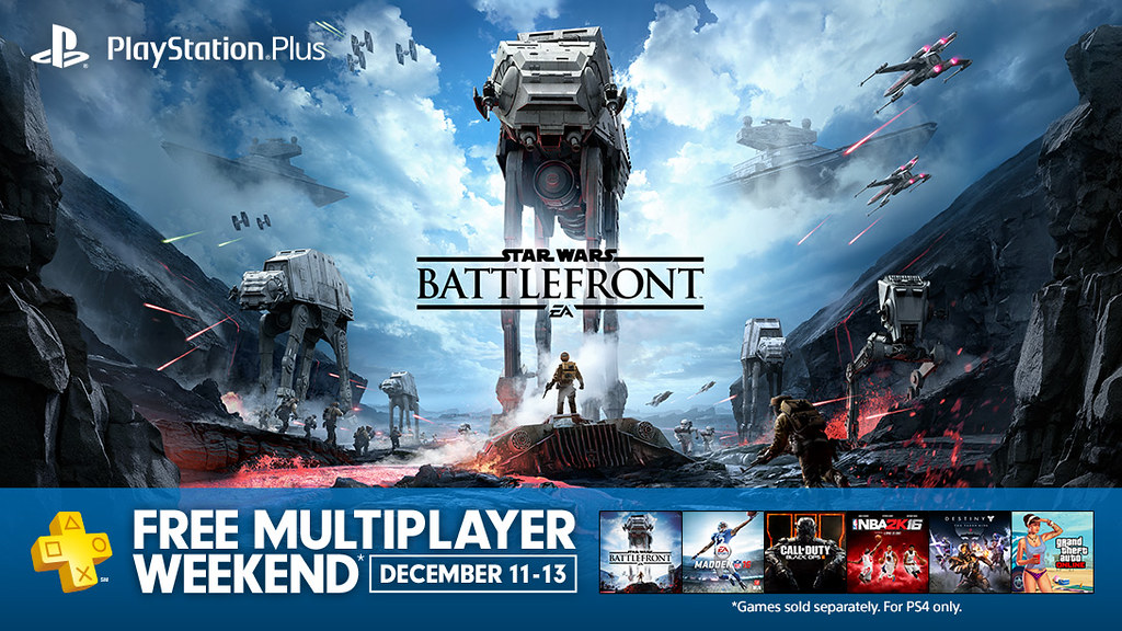 Free Multiplayer Weekend, December 2015