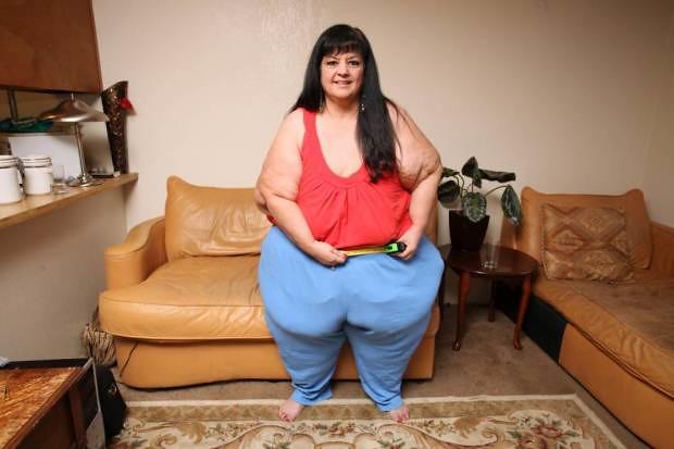 Mujer termino con novio para bajar 100 kilos