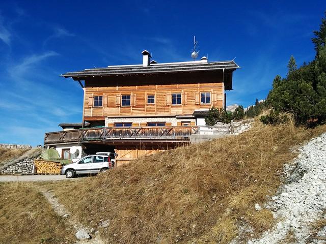 Aufstieg hinter der Dürrensteinhütte