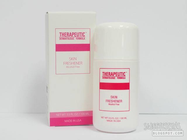 therapeutic dermatologic formula skin freshener