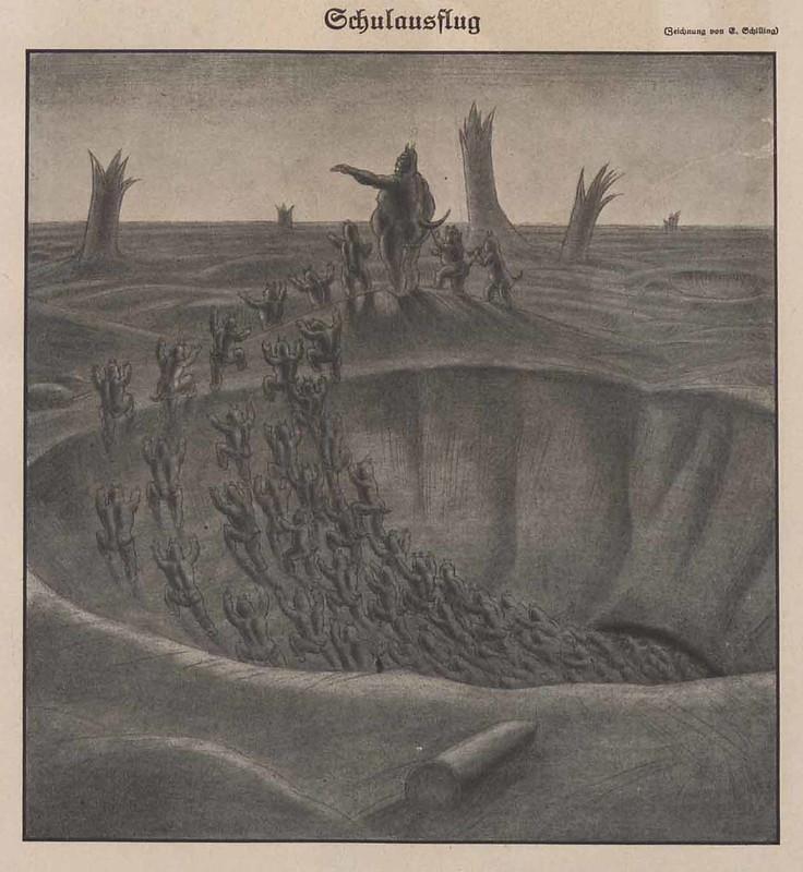 Erich Schilling - School Trip, 1918