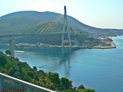 Dubrovnik - the bridge over the bay