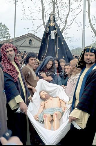 Laino Borgo (CS), 1974, Rappresentazione