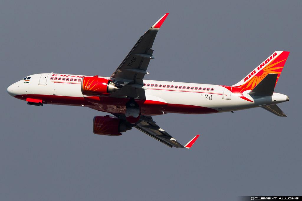 VT-EXF - A20N - Air India