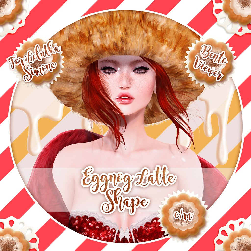 Eggnog Latte Shape - Teaser - SecondLifeHub.com