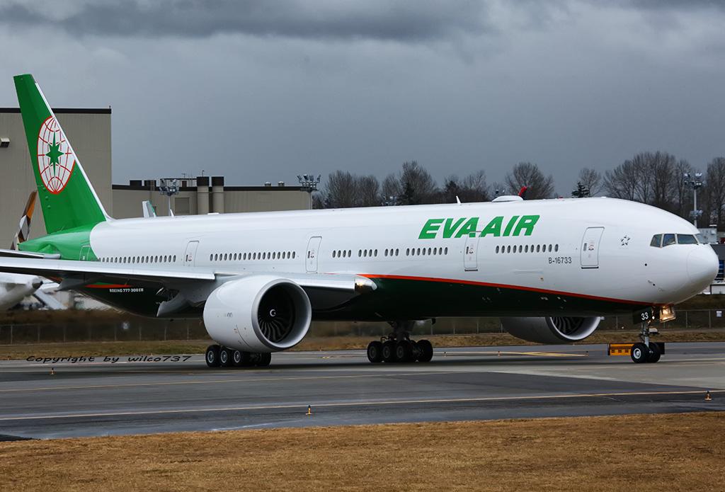 B-16733 - B77W - EVA Air