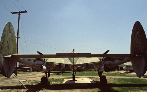 Lockheed P-38 Lightning at the Planes of Fame Museum, 1980