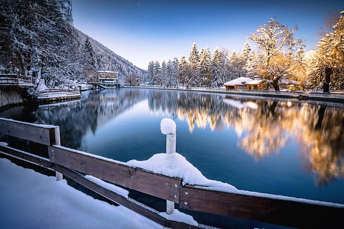 nature water reflection coldtemperature beautyinnature winter snow tree nopeople tranquilscene builtstructure lake outdoors tranquility scenics day architecture lakeview weather longexposure wideangle photography copyspace velingrad kleptuza