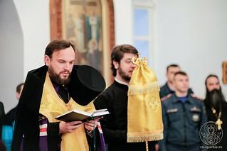 Молебен в Спасском соборе 230