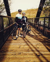 Sunday ride with the wife #cycling #santaclarita #laweekend
