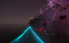 USS Makin Island transits the Arabian Sea.