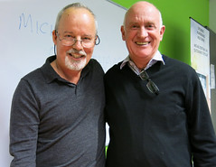 Michael Robotham and Dennis