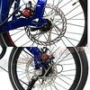 300-026-5 Birdy2015-New Birdy Touring Disc 3x8 前後避震折疊車-晶艷紅 內變3外變8速碟煞Monocoque鋁合金公路車幾何設計