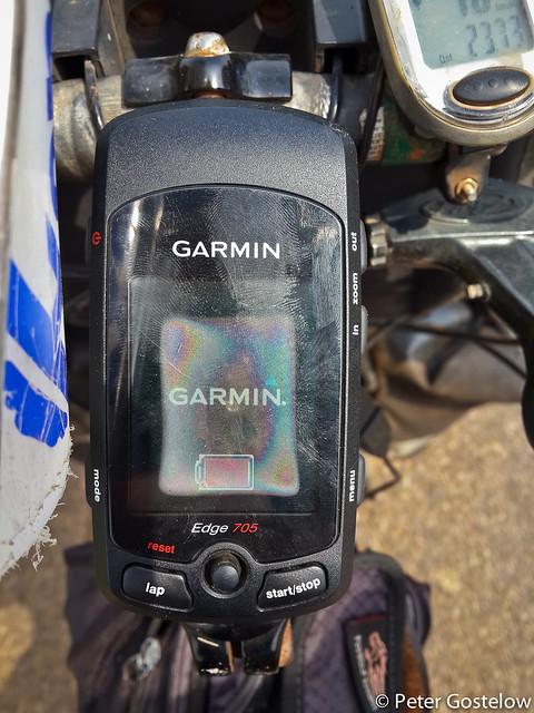 Fogged-up GPS