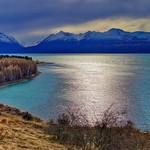 7. August 2015 - 11:20 - Afternoon sun, Lake Pukaki